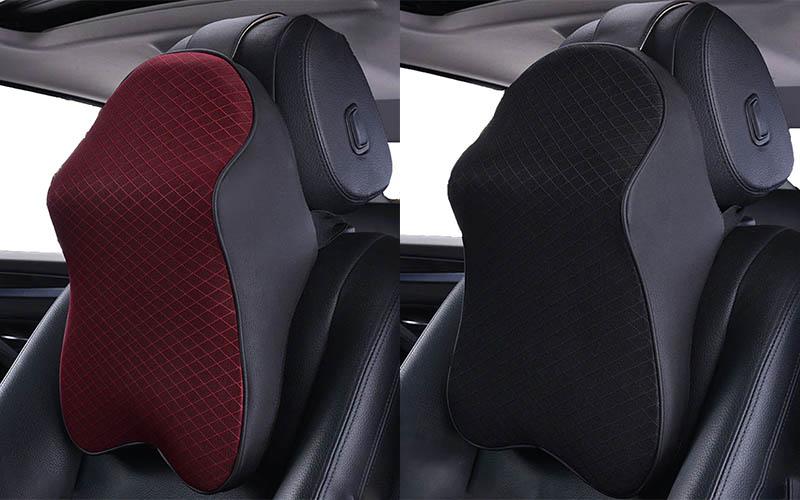 3D Memory Foam Car Neck & Back Pillow For Driving