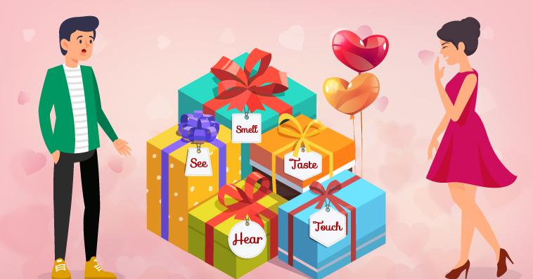 5 senses gift