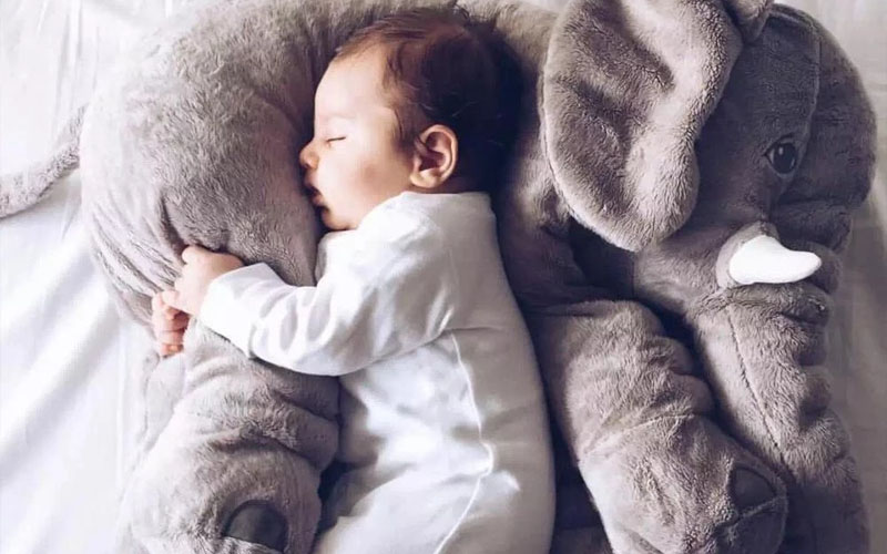 Elephant Plush Toy Pillow