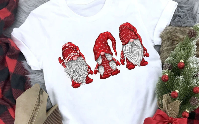 Animated Christmas Gnomes T-Shirt