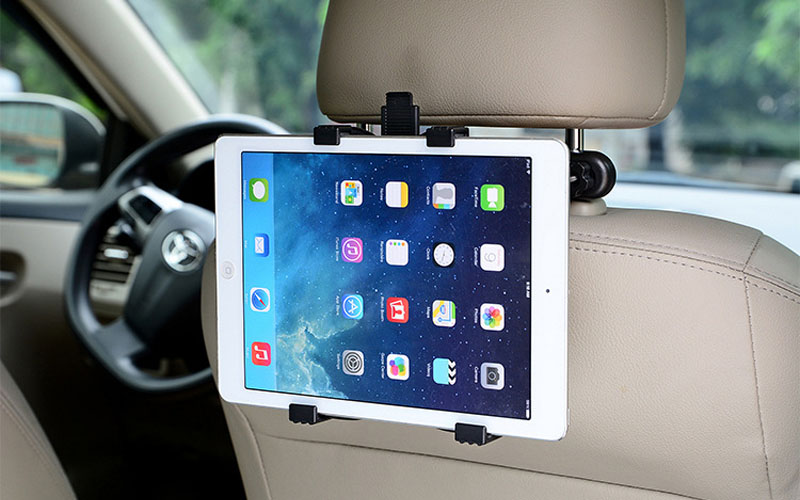 Car Seat Headrest Phone Mount