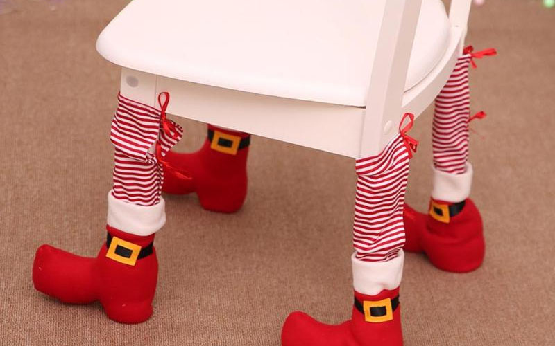 Christmas Chair Santa Socks
