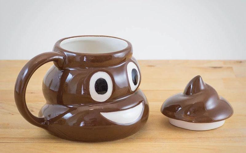 Emoji Poop Mug