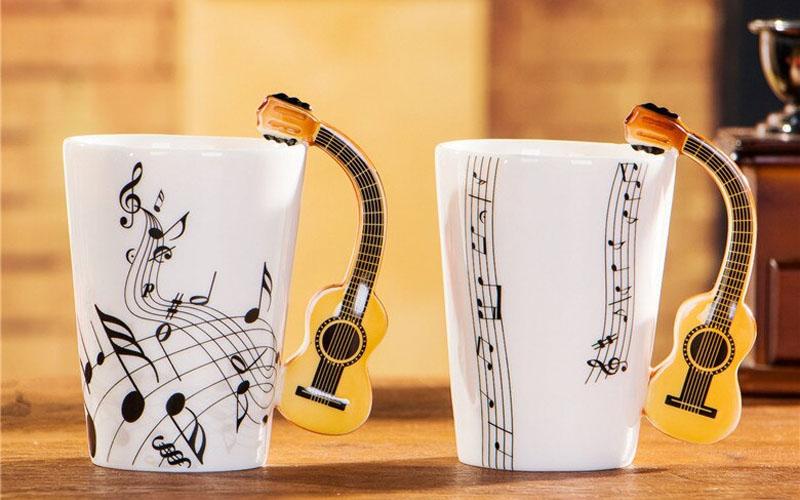 Fancy Handle Mug