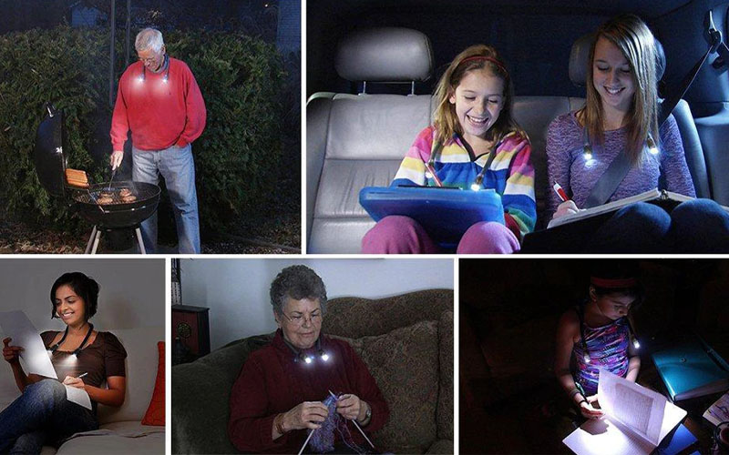 Hands Free LED Portable Light