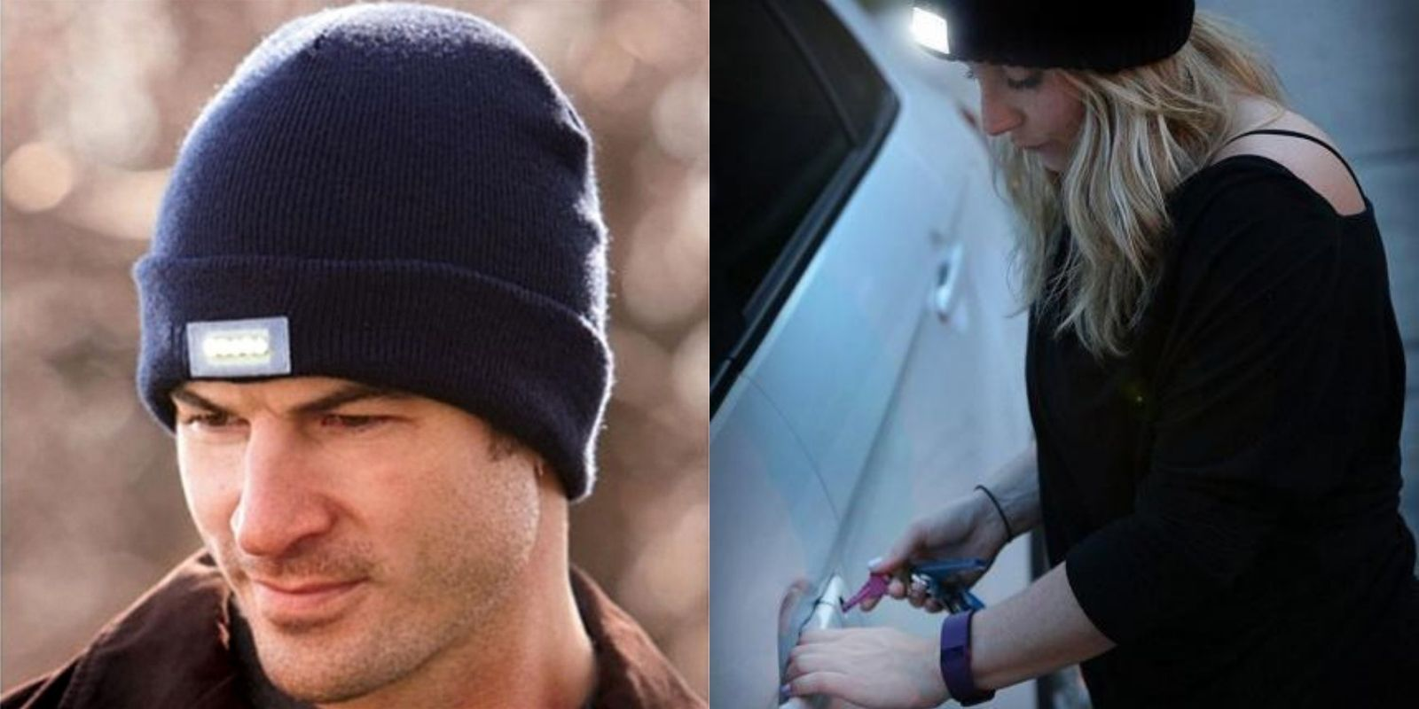 Knit Tactical Beanie Hat