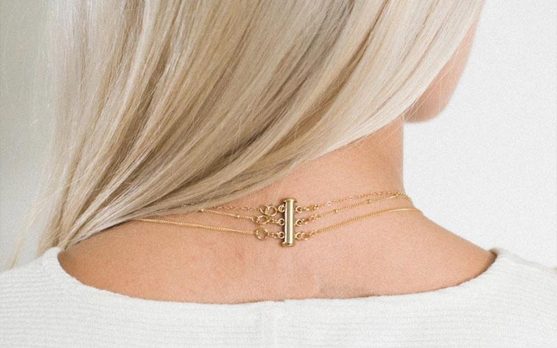Layered Necklace detangler