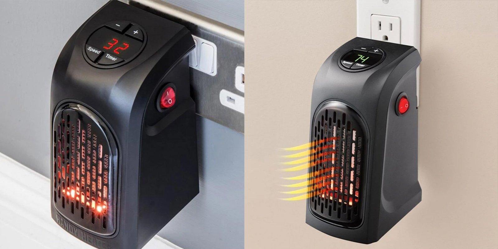 Mini Fan Electric Heater