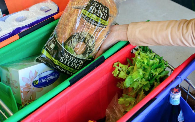 Reusable Bags for Organizing Your Trolley