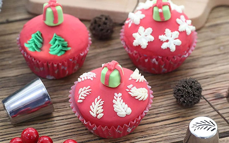 Russian Icing Piping Tips Christmas Design Nozzles