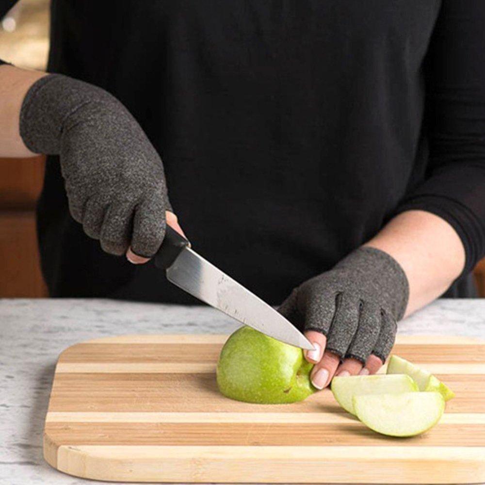 Arthritis Compression Fingerless Gloves