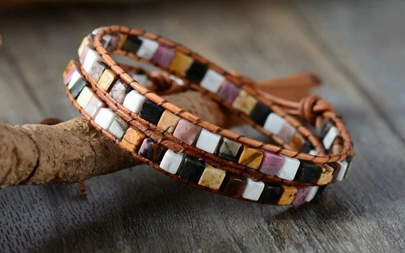 Colorful Handmade Bohemian Wrap Bracelet