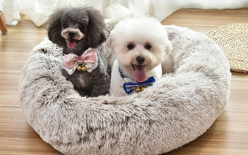 Comfy Faux Fur Pet Bed