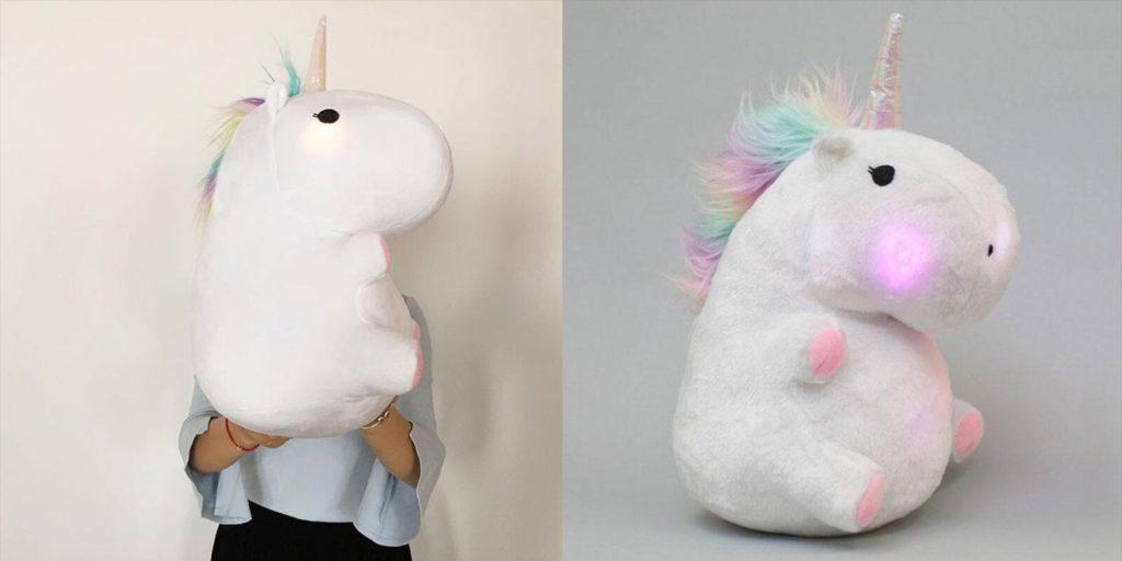 Glowing Chubby Unicorn
