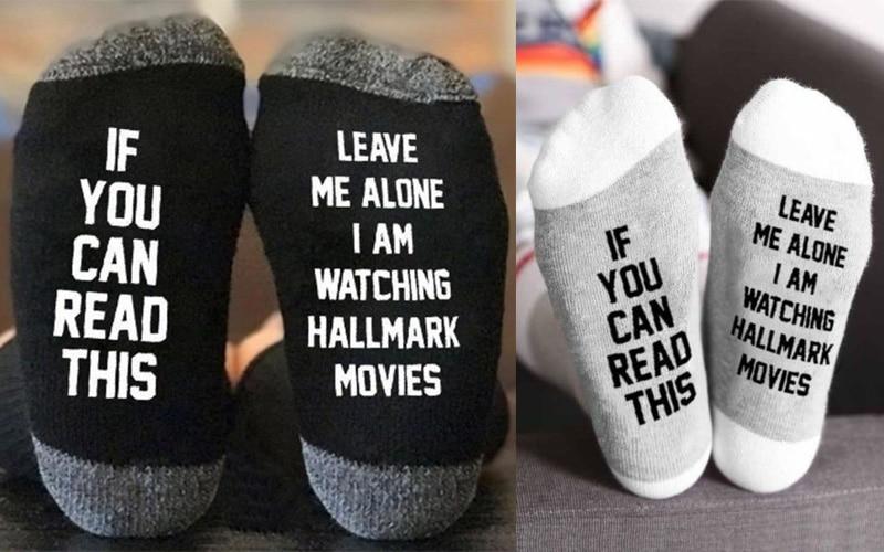 Hallmark Movies Socks
