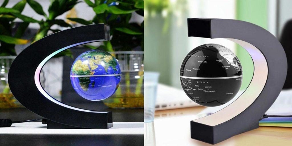 LED Floating Globe Lamp