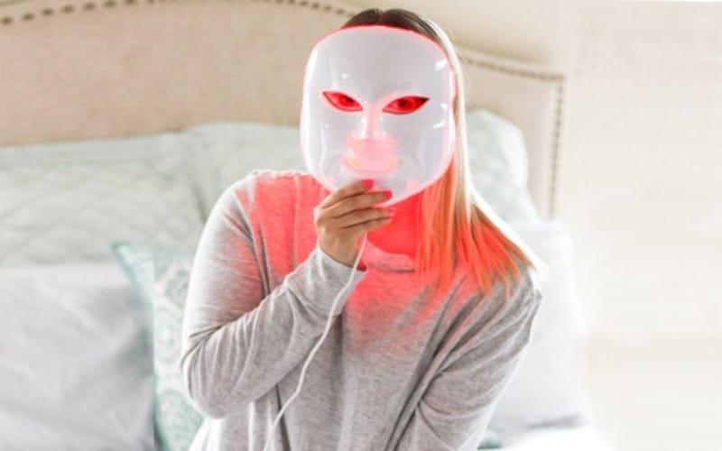 LED Spa Facial Mask