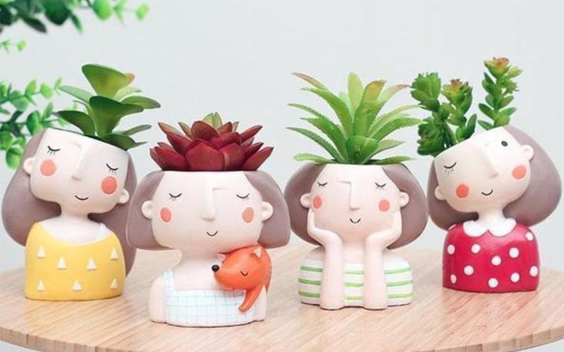 Little People Mini Succulent Planter