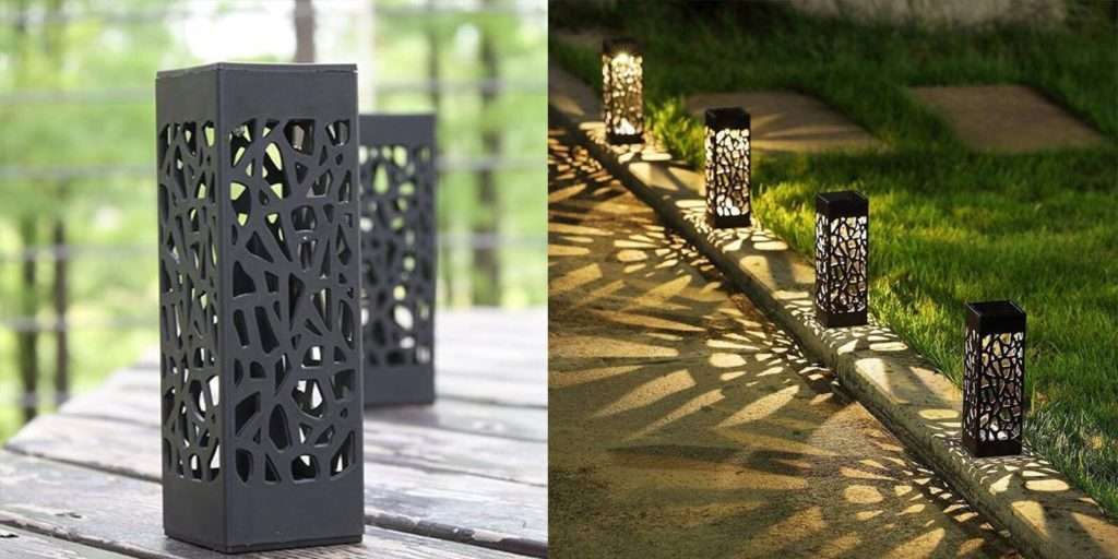 Moroccan Tower Solar Lanterns