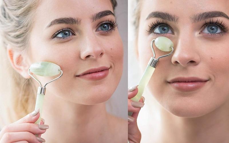 Real Jade Facial Roller