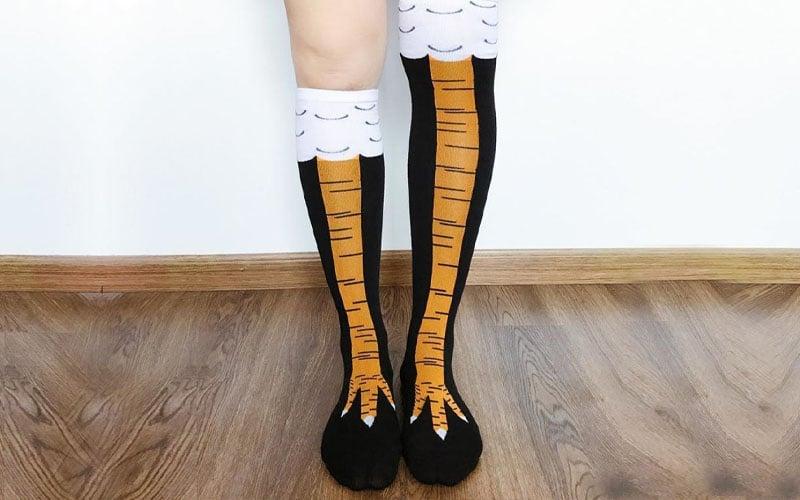 Unisex Chicken Feet Socks