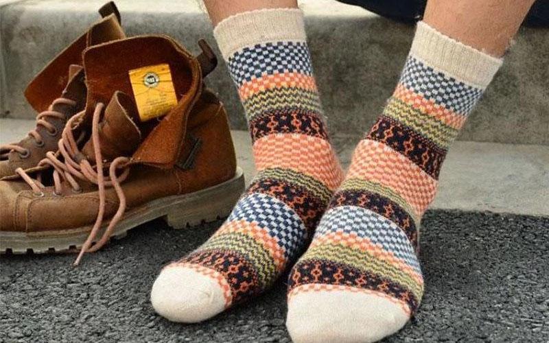 Unisex Wool Nordic Socks
