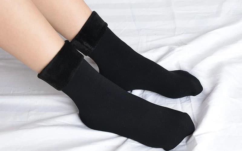 Warm and Cozy Faux Fur Socks