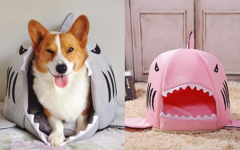 Beautiful Shark Pet Bed