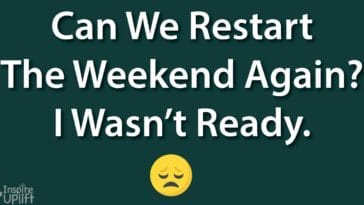 Can We Restart