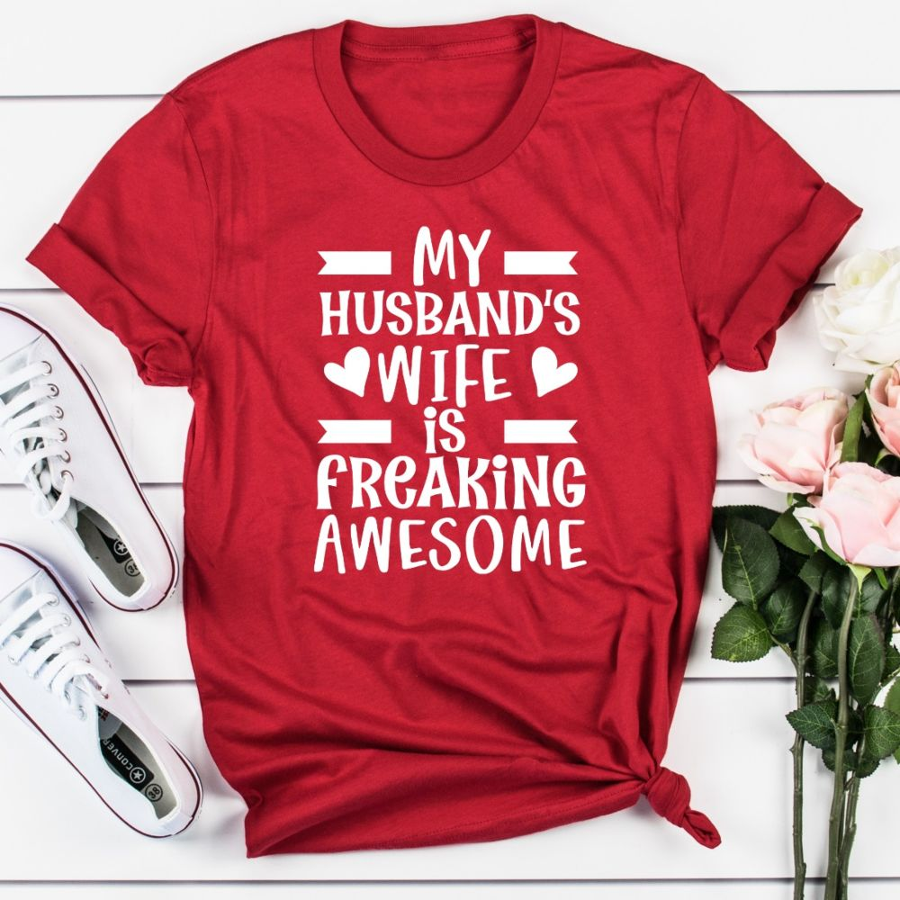 My husband's wife t-shirt