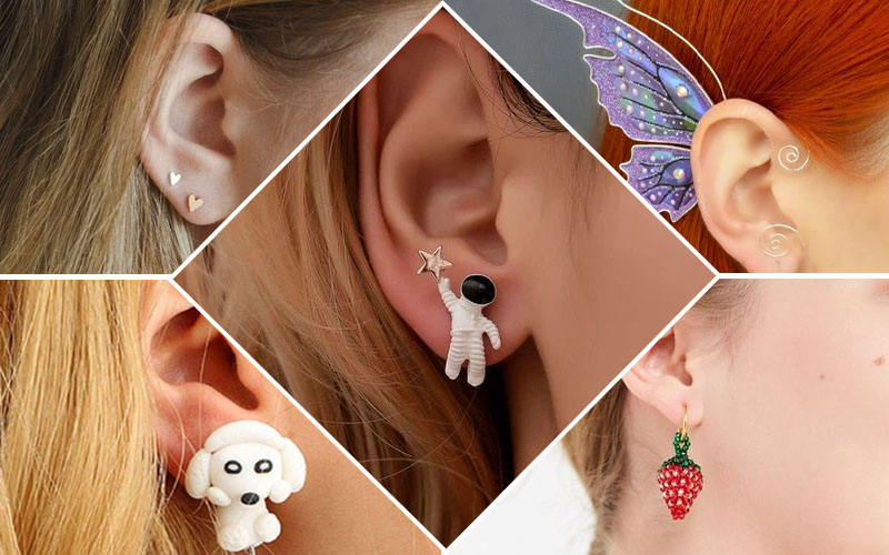 Best types of earrings for kids.