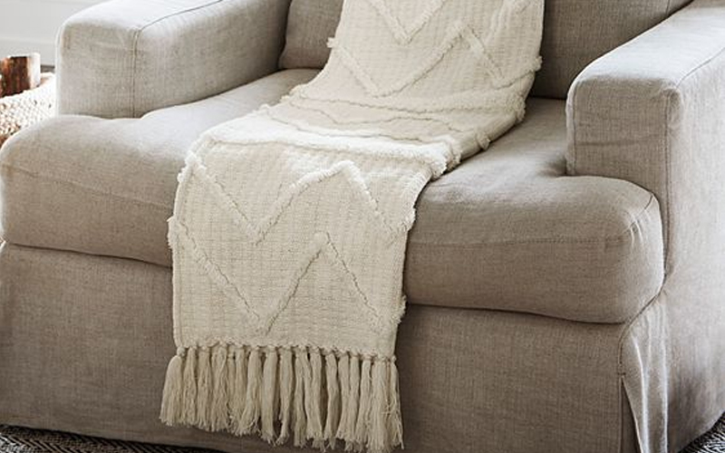 Chenille Blankets or Woven Acrylics