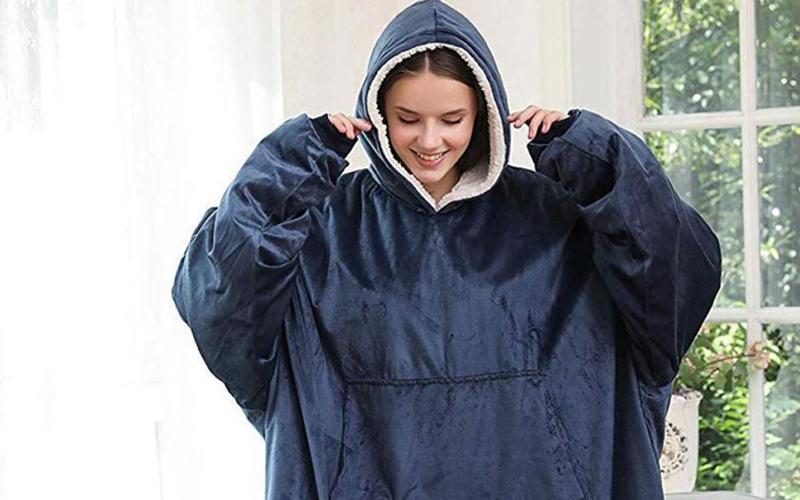 Cozy Blanket Sweatshirt
