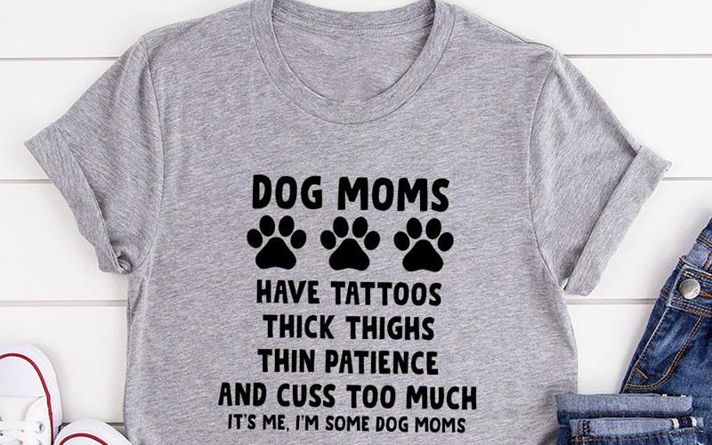 Dog Moms T-Shirt