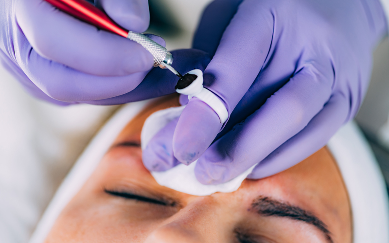 Microblading ink or pigment