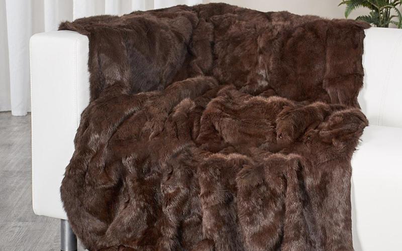 Mink Fur Blankets