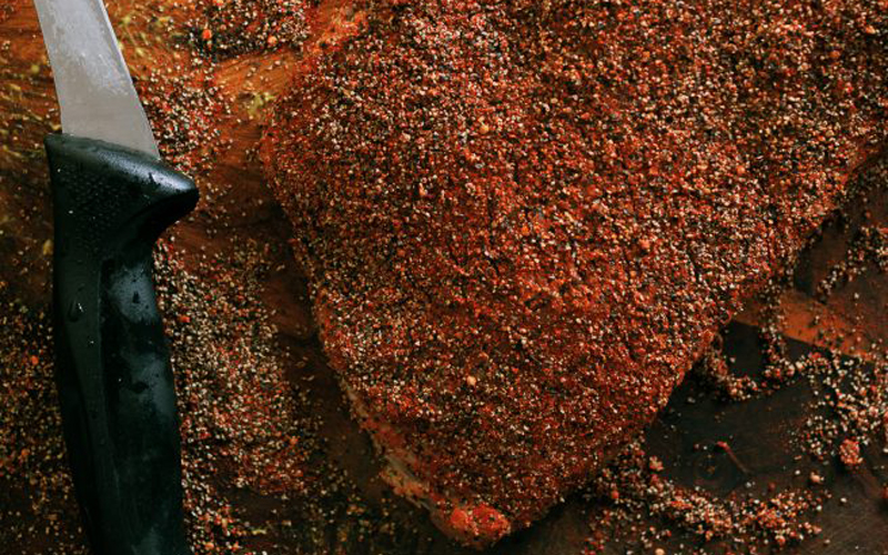 Pre-brined corned beef brisket