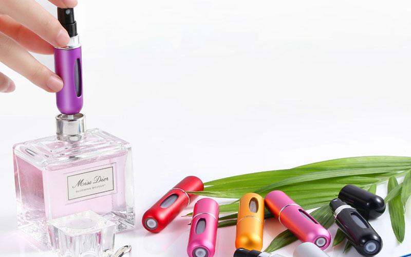 Travel Perfume Atomizer Spray Bottle