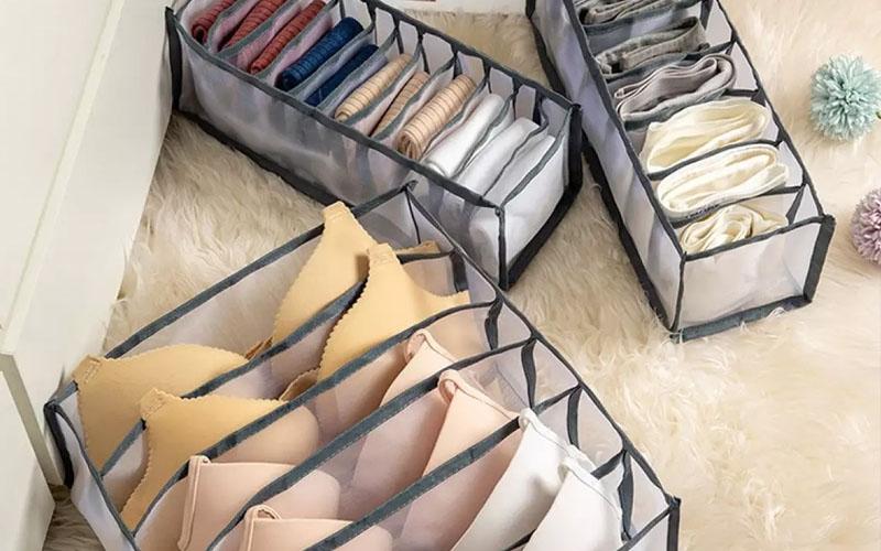 Underwear Storage Organizer Box