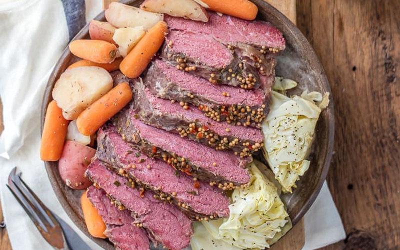 Why is corned beef paired with cabbage