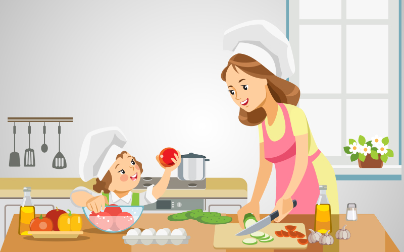 Cook and become a culinary master