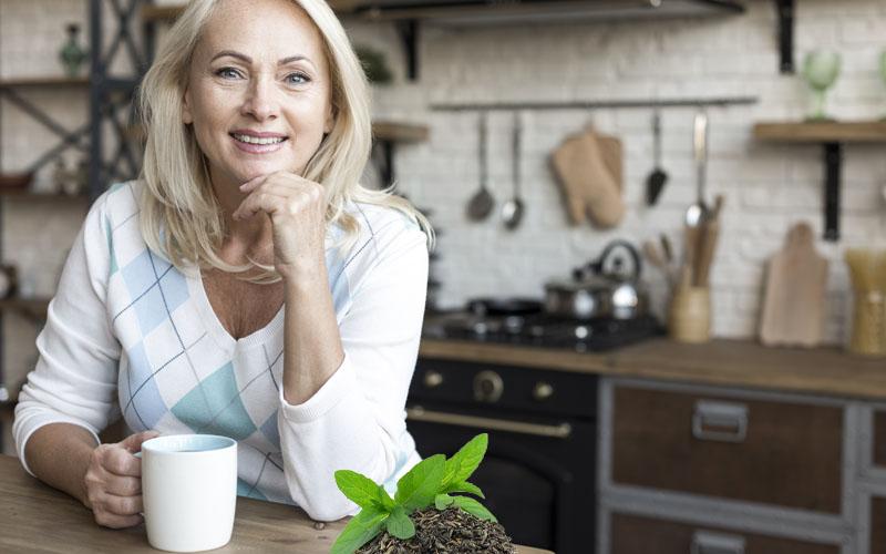 Helps Prevent Bone Loss in Old Women