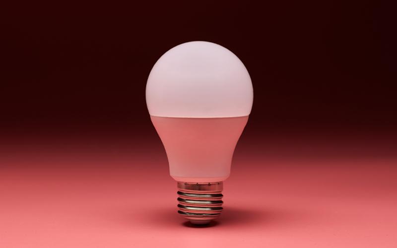 LED or Light Emitting Diodes Lamp