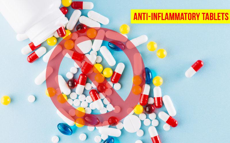 No Anti Inflammatories