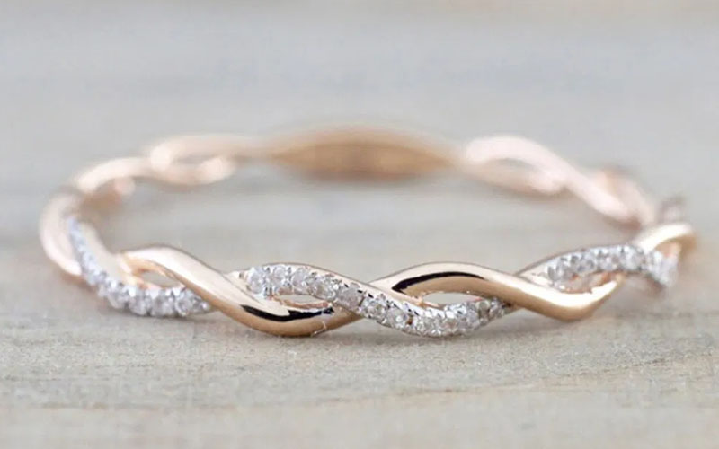 Eternity Bands Promise Rings