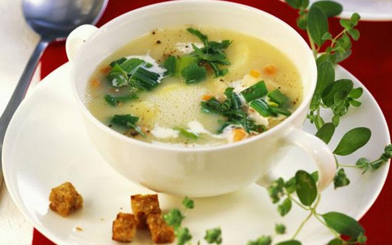 Fresh marjoram substitute for soup