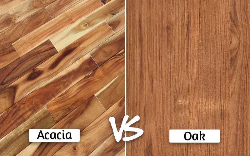 Acacia vs oak