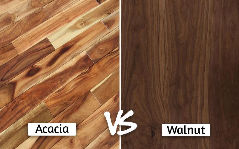 Acacia vs walnut
