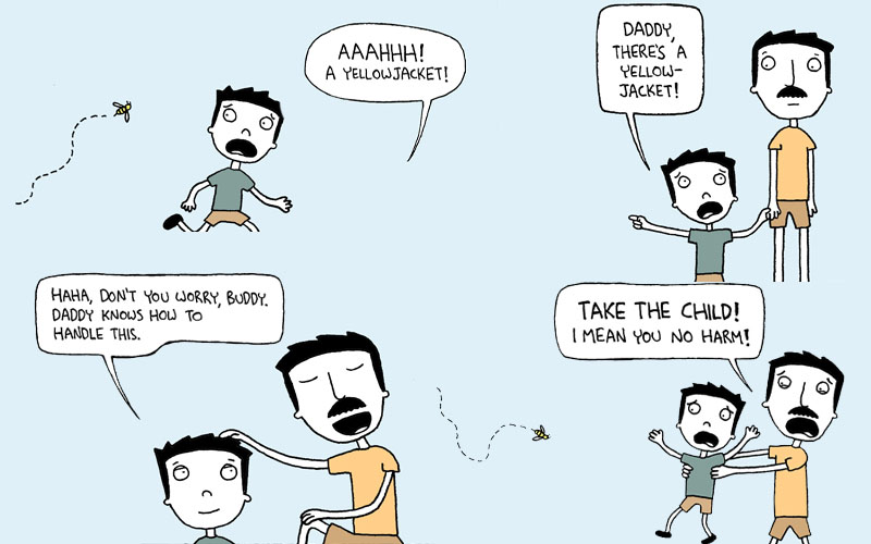 Bad Parenting Comic