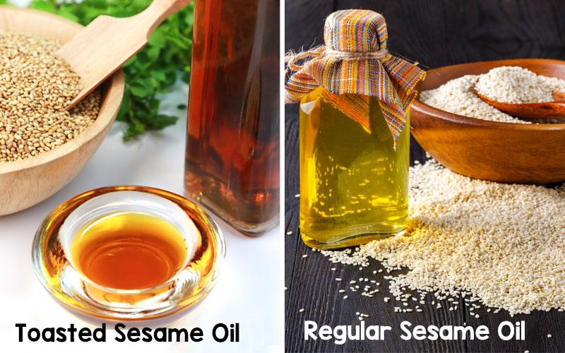 How to Make Toasted Sesame Oil from Regular Sesame Oil